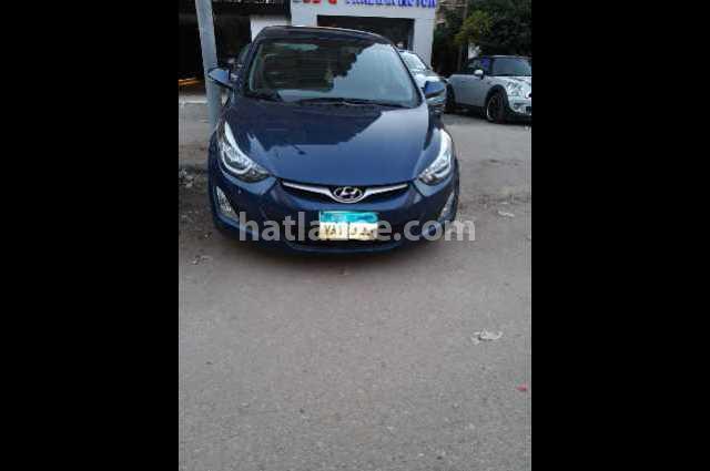 Elantra MD Hyundai أزرق