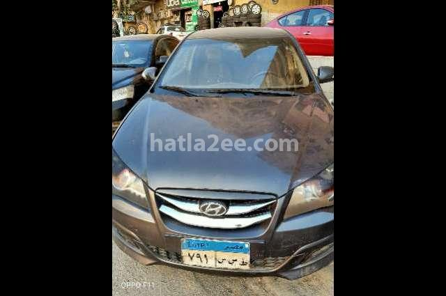 Elantra HD Hyundai رمادي