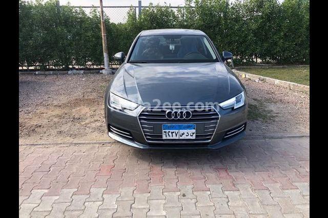 A4 Audi رمادي