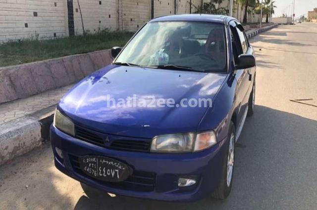 Lancer Mitsubishi Blue