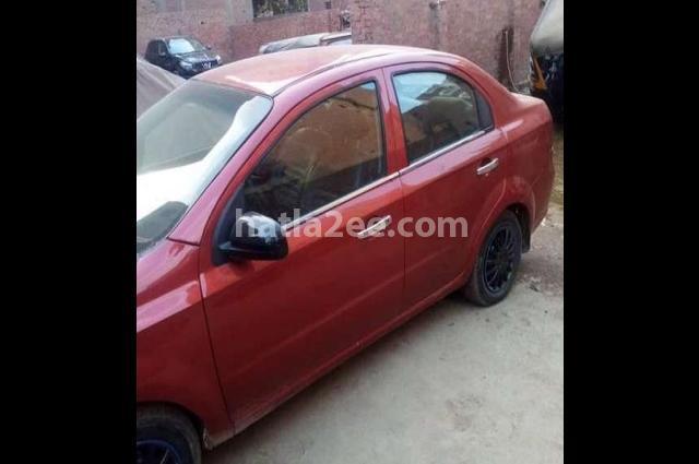 Aveo Chevrolet Dark red