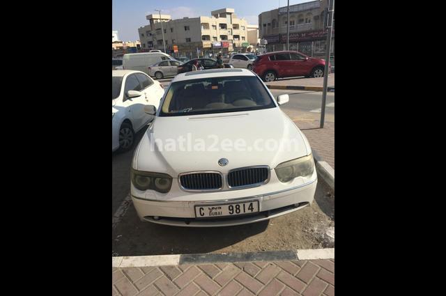 735 BMW أبيض