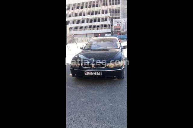 745 BMW Black