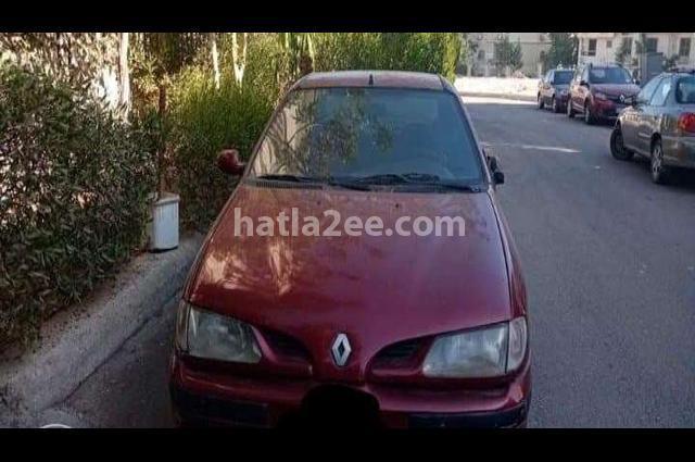Megane Renault Dark red