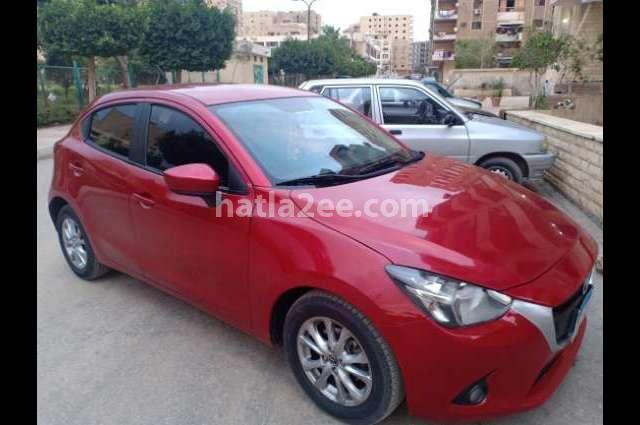 Mazda 2 Mazda Red
