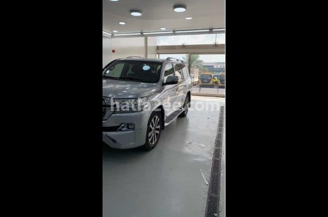 Land Cruiser Toyota Silver