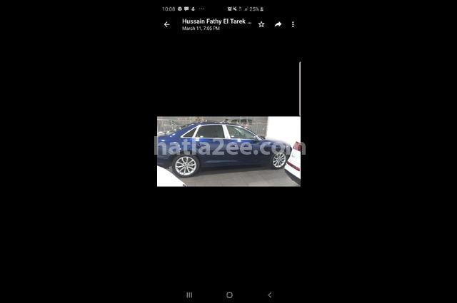 A4 Audi أزرق