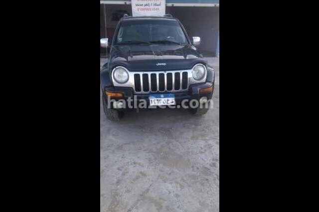 Liberty Jeep أسود