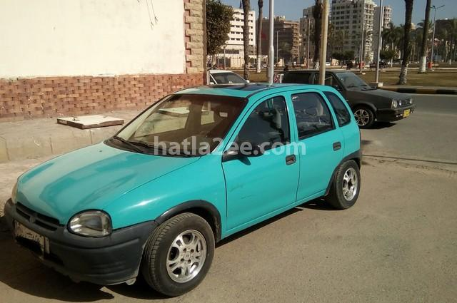 Corsa Opel Blue