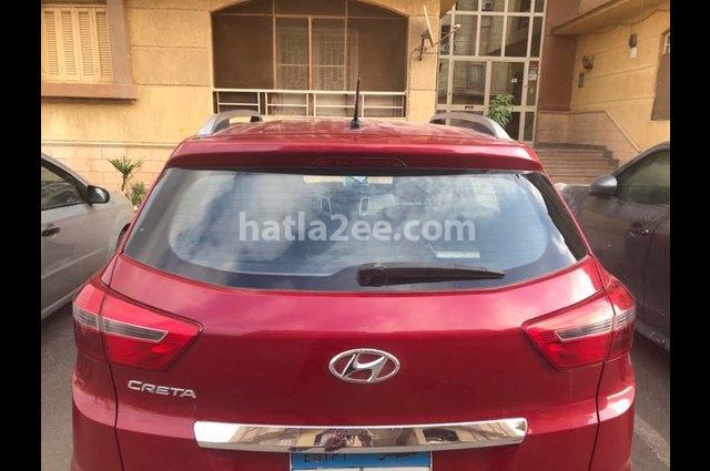 Creta Hyundai احمر غامق