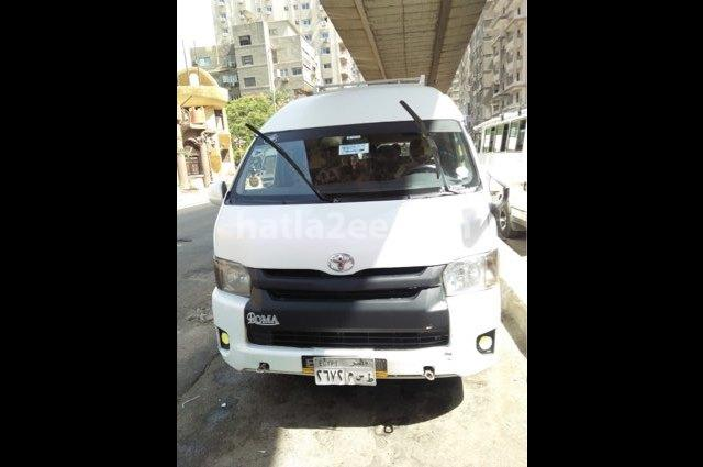 Hiace Toyota White