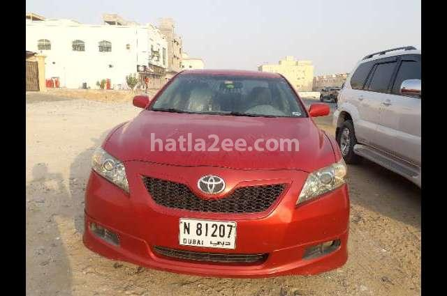 Camry Toyota Red