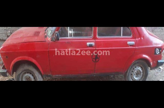 128 Fiat Red