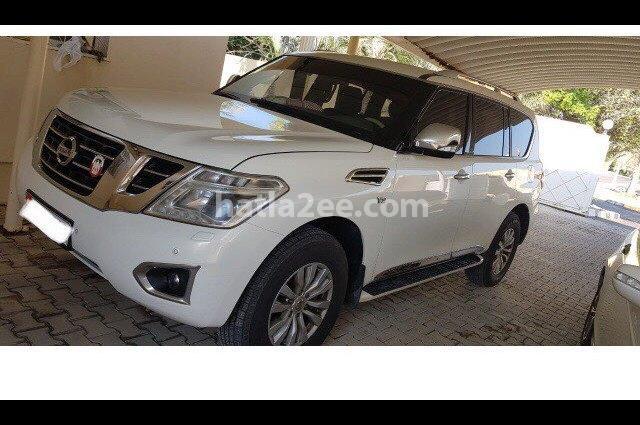 Patrol Nissan White