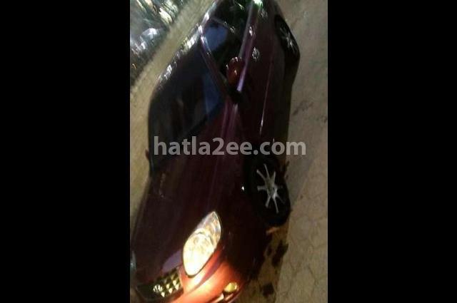 Verna Hyundai Dark red