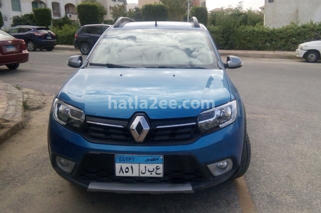 Sandero Step Way Renault أزرق