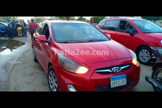 Accent RB Hyundai احمر