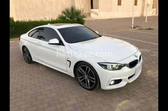 4 Series BMW أبيض