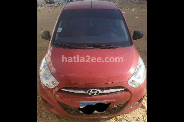 I10 Hyundai احمر غامق