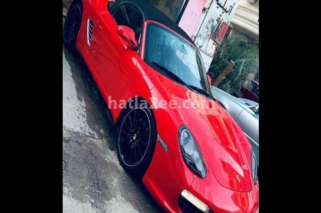 Boxster S Porsche احمر