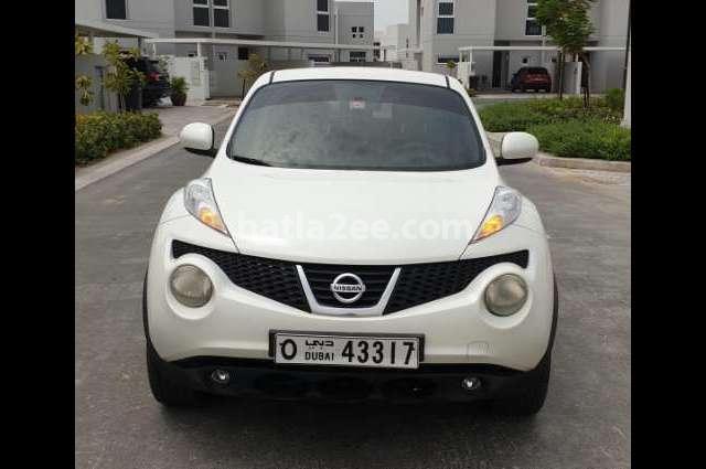 Juke Nissan 2014 Dubai White 3440023 Car For Sale Hatla2ee