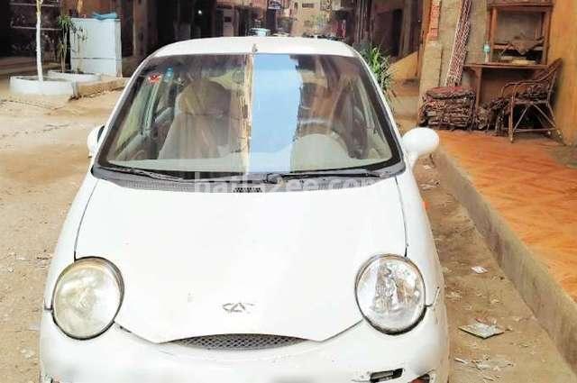 Chery Qq Speranza 2007 El Haram White 3717829 Car For Sale Hatla2ee