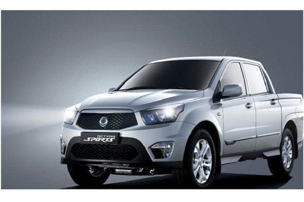 Ssang Yong Actyon Sport 2020 Manual / 2WD New Cash or Installment