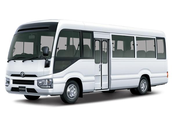 Toyota Coaster 2020 manual / Basic New Cash or Installment