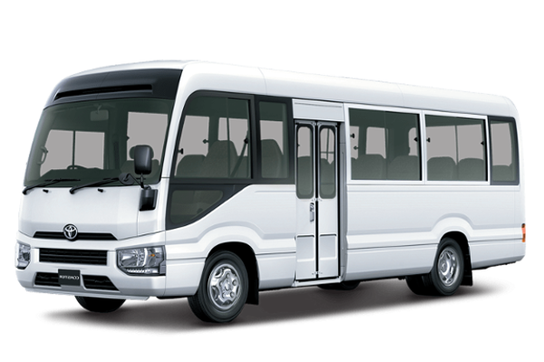 Toyota Coaster 2020 manual‏ / High line  New Cash or Installment