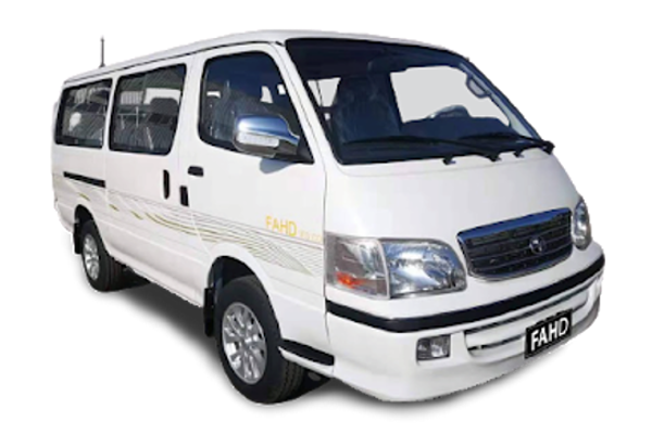Fahd Microbus 2021 manual / GLX New Cash or Installment
