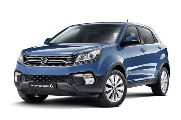 Ssang Yong Korando 2021 Automatic / GDI Comfort FWD New Cash or Installment