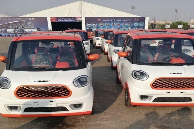 سيارات E Motion تظهر للمرة الثانية في معرض بمصر هتلاقى